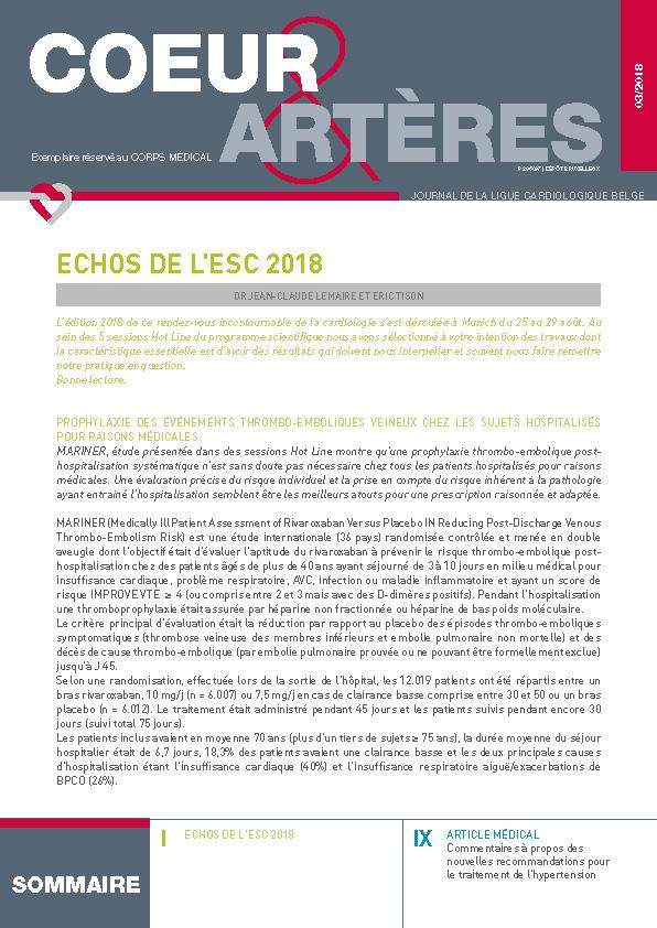 coeur arteres 2018_3 Médecins